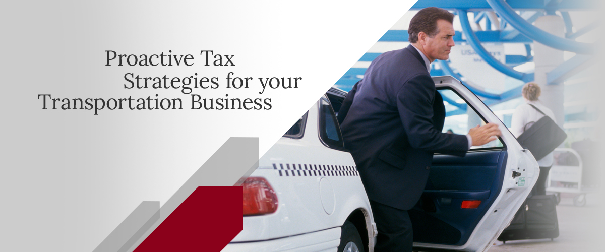 transportation tax services
